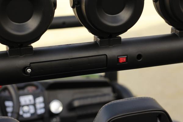 UTV electric pentru copii Golf-Kart S2588 180W PREMIUM #Verde 16