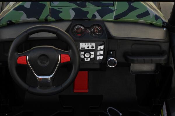 UTV electric pentru copii Golf-Kart S2588 180W PREMIUM #Verde 6