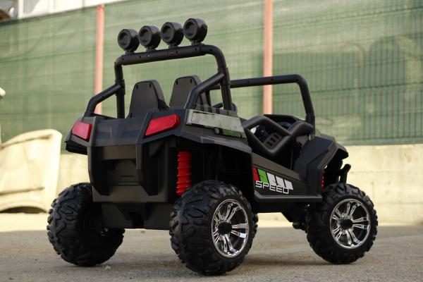 UTV electric pentru copii Golf-Kart S2588 180W PREMIUM #Verde 4