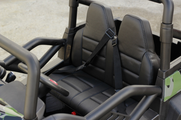 UTV electric pentru copii Golf-Kart S2588 180W PREMIUM #Verde 12