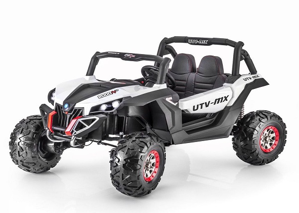 UTV electric Rocker 2x35W 12V STANDARD #Alb 0