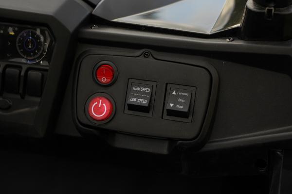 UTV electric Rocker Premium 240W 24V #Negru 3
