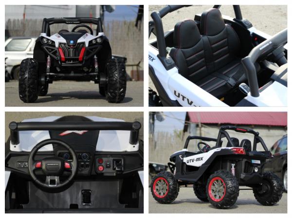 UTV electric Rocker Premium 4x 35W 24V #Alb 8