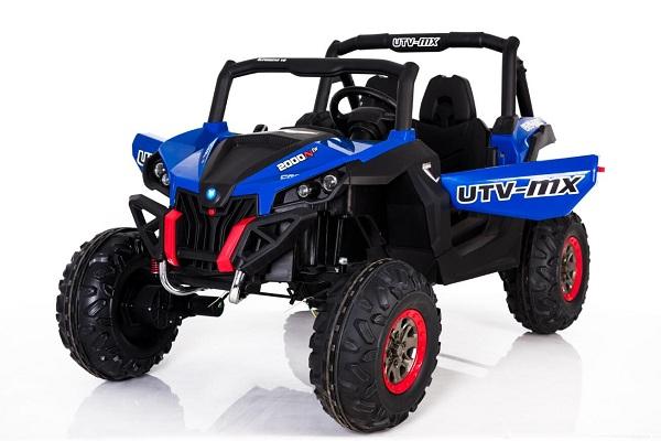 UTV electric Rocker 4x4 140W 12V DELUXE Albastru imagine