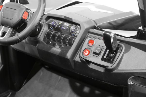 UTV electric Rocker Premium 4x4 140W 12V #Albastru 2