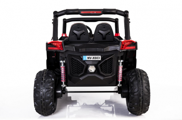 UTV electric Rocker Premium 4x4 140W 24V #Rosu 2