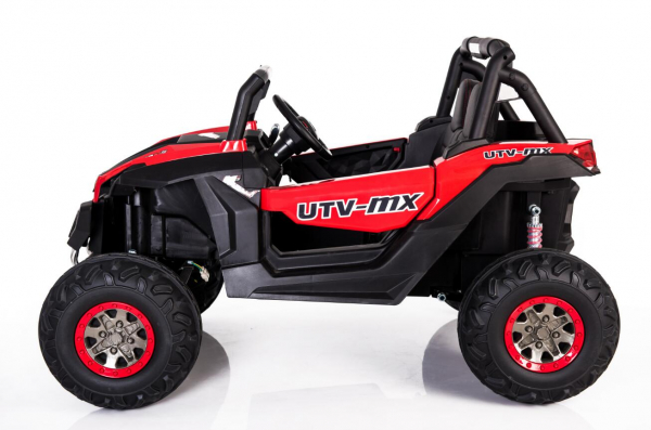 UTV electric Rocker Premium 4x4 140W 24V #Rosu 1