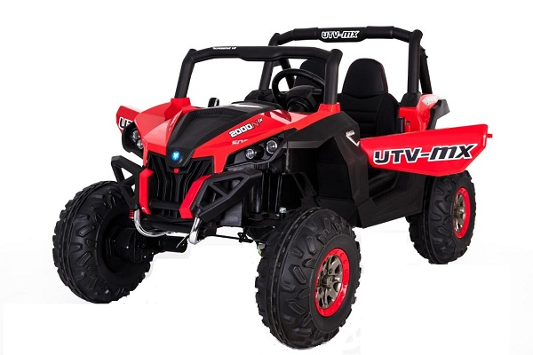 UTV electric Rocker Premium 4x4 140W 24V #Rosu 0