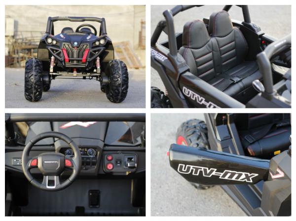 UTV electric Rocker Premium 4x4 140W 24V #Negru [8]