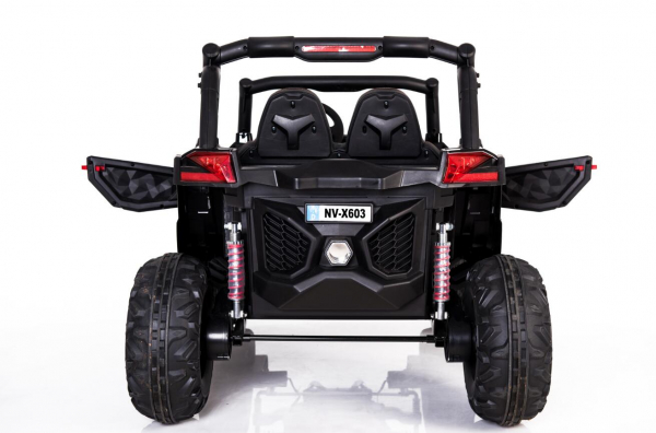 UTV electric Rocker 2x35W 12V STANDARD #Alb 2