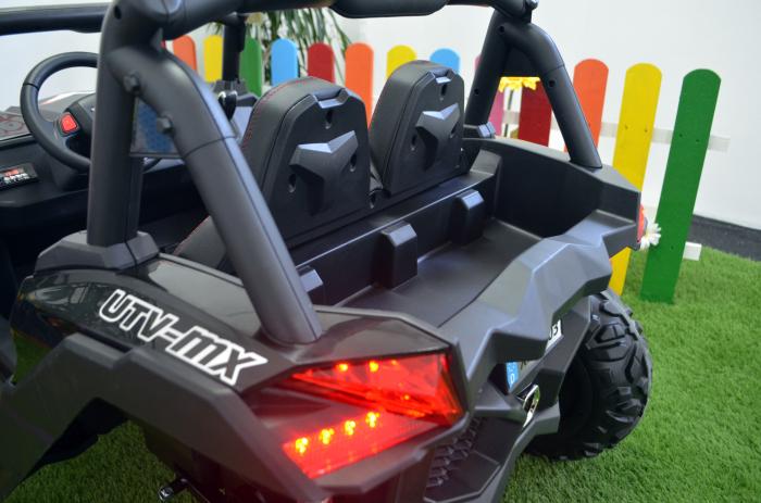 UTV electric Rocker Premium BJ603, 4x4 140W 12V #Negru [12]