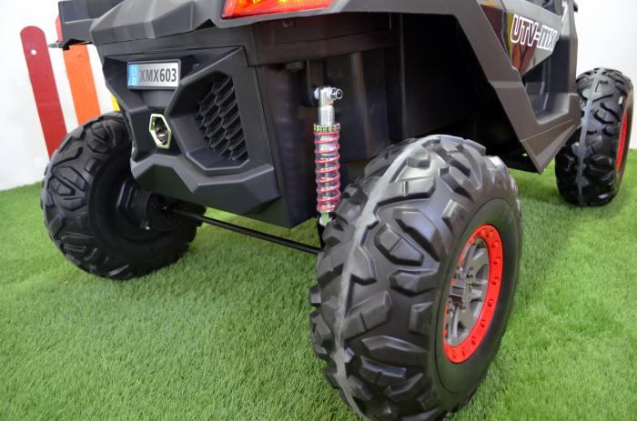 UTV electric Rocker Premium BJ603, 4x4 140W 12V #Negru [14]