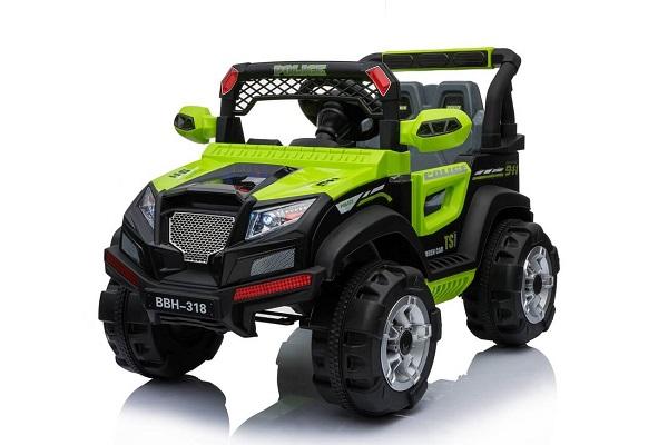 Masinuta electrica POLICE BBH-318 2x35W STANDARD #Verde 0