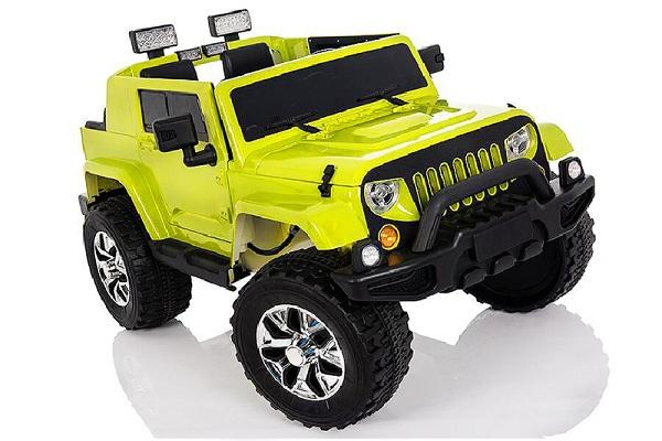 Masinuta electrica JeeP Outdoor 12V STANDARD #Verde [0]