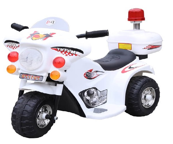 Mini Motocicleta electrica cu 3 roti LQ998 STANDARD #Alb 0