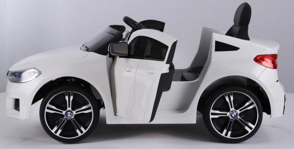 Masinuta electrica Bmw Seria 6 GT 60W 12V STANDARD #ALB [6]
