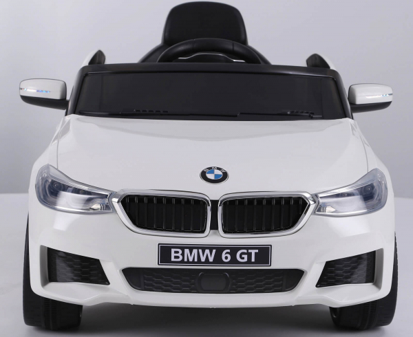 Masinuta electrica Bmw Seria 6 GT 60W 12V STANDARD #ALB [1]