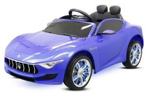 Masinuta electrica Maserati Alfieri 12V 2x35W CU ROTI MOI #Albastru0