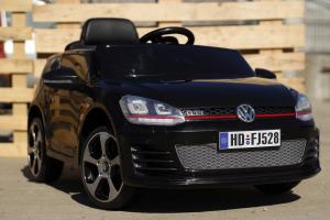 Masinuta electrica VW Golf GTI 2x30W 12V STANDARD #Negru3