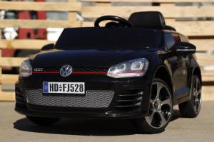 Masinuta electrica VW Golf GTI 2x30W 12V STANDARD #Negru2