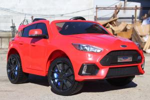 Masinuta electrica Ford Focus RS CU ROTI MOI #Rosu1