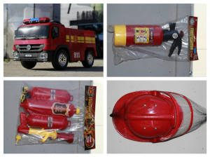 Masinuta electrica Pompieri Fire Truck Hollicy STANDARD #RED6
