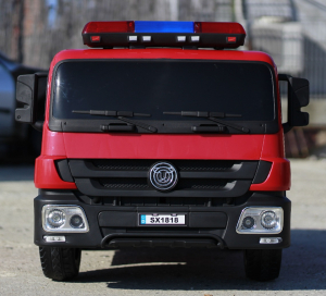 Masinuta electrica Pompieri Fire Truck Hollicy STANDARD #RED3
