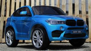 Kinderauto BMW X6M 12V XXL PREMIUM #Albastru1