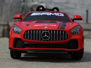 Masinuta electrica Mercedes GT-R STANDARD 2x25W 12V AMG #Rosu1