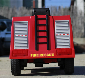 Masinuta electrica Pompieri Fire Truck Hollicy STANDARD #RED5