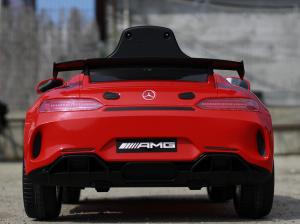 Masinuta electrica Mercedes GT-R STANDARD 2x25W 12V AMG #Rosu4