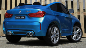 Kinderauto BMW X6M 12V XXL PREMIUM #Albastru4