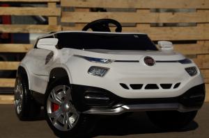 Masinuta electrica Fiat FCC4 2x25W 12V STANDARD #Alb2