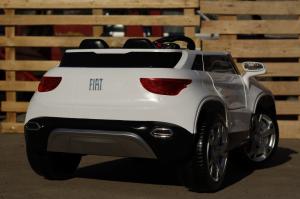 Masinuta electrica Fiat FCC4 2x25W 12V STANDARD #Alb3