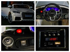 Kinderauto Audi TTS 2x 30W 12V PREMIUM #Alb8
