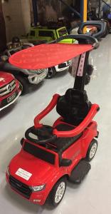 Carut pentru plimbat copii 2 in 1 Ford Ranger STANDARD #Rosu1