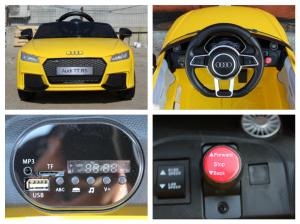 Kinderauto Audi TT RS 2x 30W STANDARD 12V #Galben7