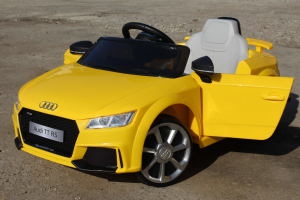Kinderauto Audi TT RS 2x 30W STANDARD 12V #Galben5