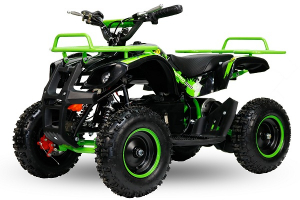 Mini ATV electric NITRO Torino Quad 1000W 36V LITHIU-ION# Verde0