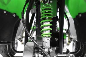 ATV electric ECO Bigfoot 800W 36V cu Baterie Detasabila SI FAR cu LED #Verde [5]