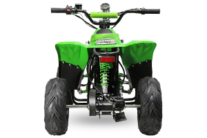 ATV electric ECO Bigfoot 800W 36V cu Baterie Detasabila SI FAR cu LED #Verde [2]