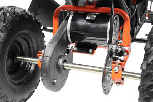 ATV electric NITRO Eco Avenger 1000W 48V 6 inch #Portocaliu4