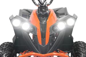 ATV electric NITRO Eco Avenger 1000W 48V 6 inch #Portocaliu3