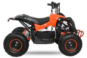 ATV electric NITRO Eco Avenger 1000W 48V 6 inch #Portocaliu1