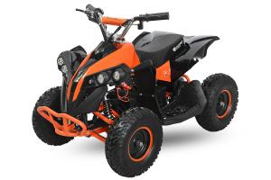 ATV electric NITRO Eco Avenger 1000W 48V 6 inch #Portocaliu8