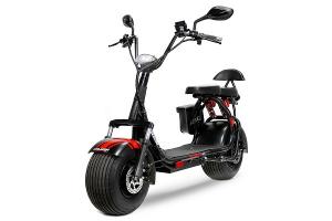 Scuter electric NITRO Eco Cruzer 1000W 60V + Accesorii #Negru0