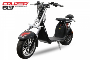 Scuter electric NITRO Eco Cruzer S12 1500W 60V Old School #Grey0