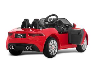 Kinderauto Jaguar F Type cu ROTI MOI 2x 35W 12V #Rosu1