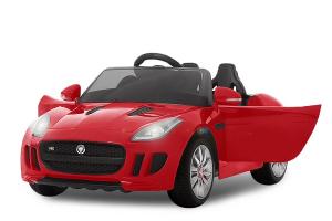 Kinderauto Jaguar F Type cu ROTI MOI 2x 35W 12V #Rosu0