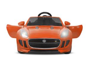 Kinderauto Jaguar F Type cu ROTI MOI 2x 35W 12V #Portocaliu2
